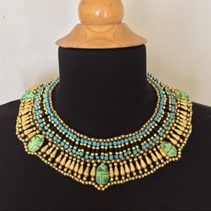Jewelry - Egyptian Collar Necklace Halloween Costume New